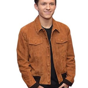Tom Holland Suede Jacket 25