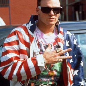 Vanilla Ice American Flag Jacket 38
