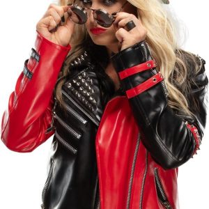 WWE Toni Studded Leather Jacket 11