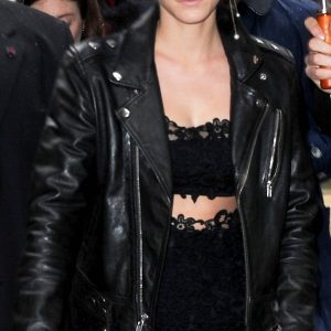 Emma Watson Motorbiker Leather Jacket 41