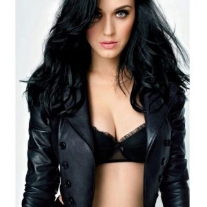 Katy Perry Stylish Leather Jacket 20