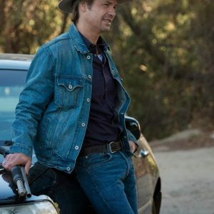 Timothy Olyphant Denim Jacket 13