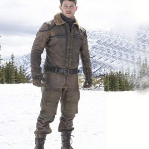 Nick Jonas Jumanji Leather Jacket