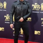 Nick Jonas Jumanji Returning Black Leather Jacket