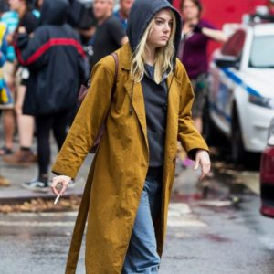Maniac Annie Landsberg Brown Long Coat