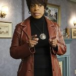 Niecy-Nash-Masters-of-Sex-Louise-Bell-Leather-Coat