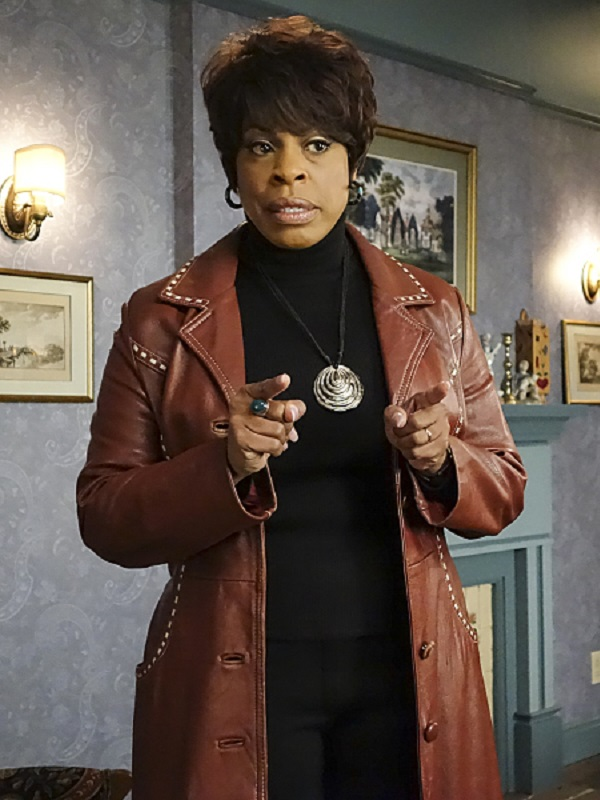 Niecy Nash Masters of Sex Louise Bell Leather Coat