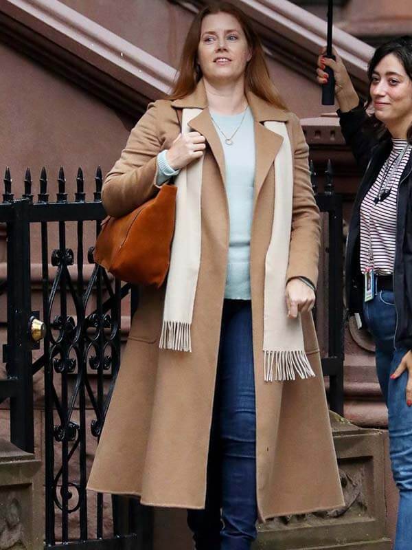 AmAmy Adams The Woman in the Window Coat
