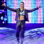 NXT Superstar Tegan Nox Black Leather Jacket