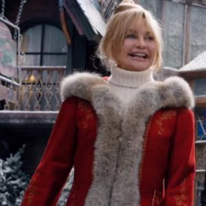 Christmas Chronicles 2 Mrs. Claus Goldie Hawn Red Coat